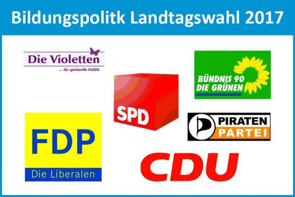 Befragung der Parteien zur Landtagswahl