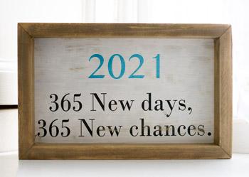 Ein gutes und erfülltes Jahr 2021